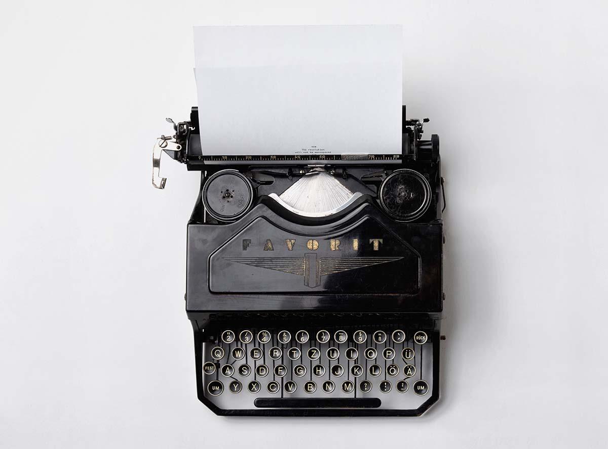 typing english