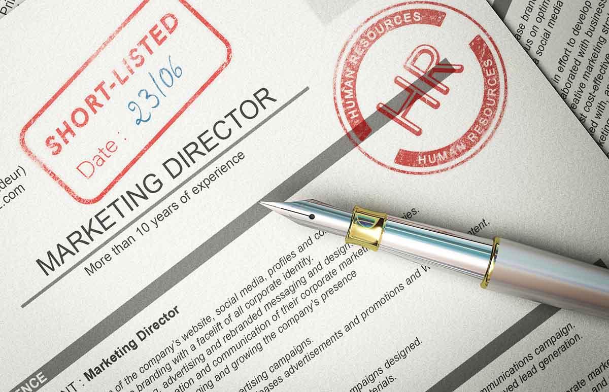 shortlisted resume